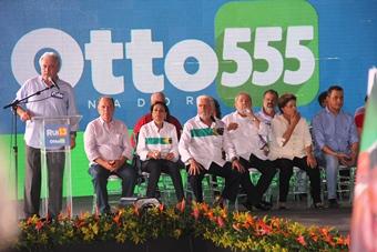 Otto lembrou das grande e históricas transformações do Governo petista.
