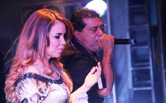 Ângela Espíndola e Edson Lima levaram muito romantismo