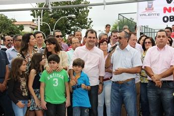 Ismael Ferreira disse que essa é uma das grandes obras do seu governo.