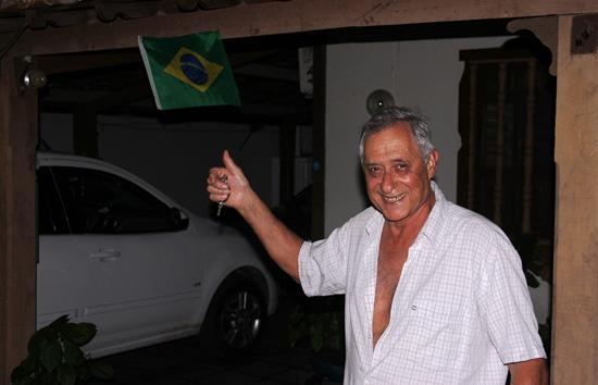 Espanha garante que também é brasileiro e tem o Brasil no coração.