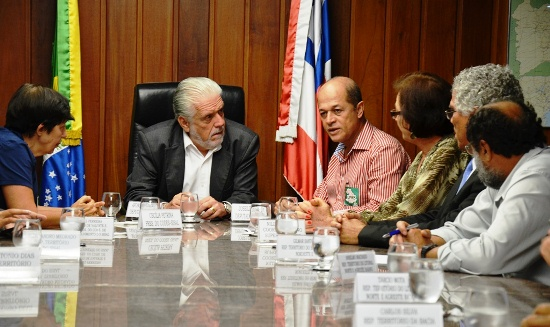 Antes, pela manhã Joseildo esteve em Conceição do Coité participando de um ato onde discutia o mesmo assunto.