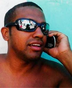 Policial Fábio Rosas morto pela quadrilha que segundo a Policia tem Tio Chico como um dos membros.
