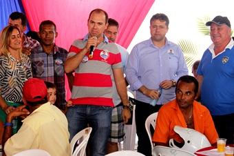 Dr Tiago disse que os candidatos terão compromisso com Retirolândia nas esferas federal e estadual.