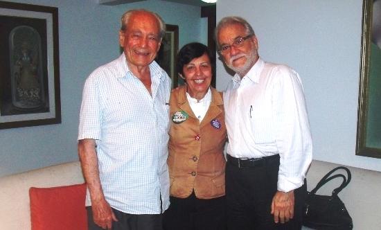 Valdir, Cecilia e Emiliano José