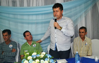 Alex é vice prefeito de Coité e pela primeira vez se candidata a deputado.