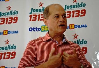 Joseildo agradeceu aos militantes pela festa e defendeu a necessidade de eleger Rui e Dilma em outubro.