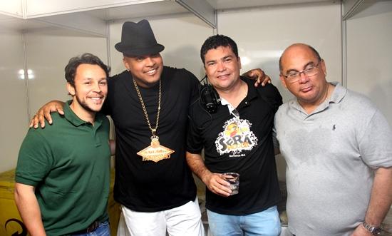 Mario Negromonte Junior, Robyssão, Marcinho da CLN e Dermeval.
