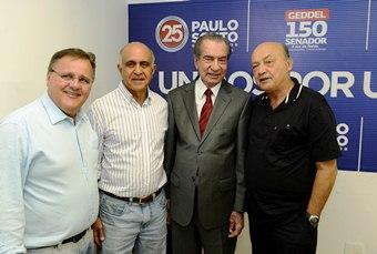 Geddel deseja ocupar a vaga de João Durval, eleito em 2006 pelos petistas e aliados.