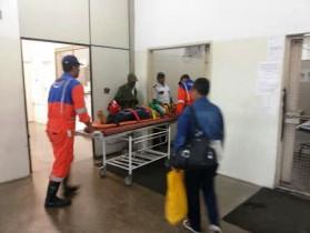 Feridos foram socorridos para o Hospital Geral Clériston Andrade