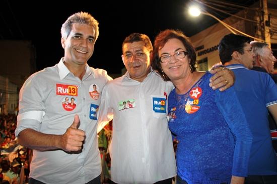 Robinson Almeida na sua primeira candidatura conta com grande apoio na Bacia do Jacuípe ao lado de Neusa. O prefeito Pedro de Baixa Grande com apoio firme a chapa governista.