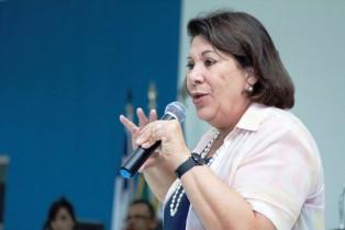 A candidata do PSB está em terceiro lugar nas pesquisas para o Senado.