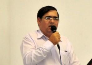 Francisco Apolònio secretário da Industria, Comércio e Turismo.