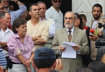 Carlos Manoel demonstrou satisfação ao assumir nova unidade no interior, já que o Português também dirije hospital em Miguel Calmon