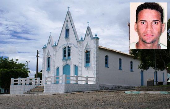 Igreja Matriz de Serra Preta - Foto: Arquivo Raimundo Mascarenhas