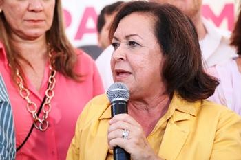 Segundo pesquisa, Lídice está no segundo lugar, a frente do candidato do Governo.