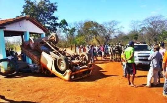 acidente em Itaetê