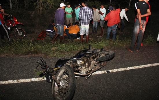 Moto comprada por Reinaldo no sábado e um dia depois se envolve no acidente.