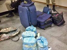 Já estava próximo ao destino final da droga, já que o casal saiu do estado de Goiás para Salvador.