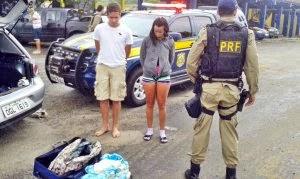 O homem abriu o jogo pata a Polícia, mas disse que a jovem não tem nada a ver com o caso.