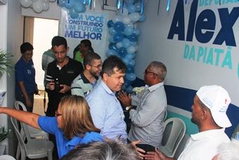 O Comitê em Riachão é o segundo a ser inaugurado e segundo o deputado serão abertos outros.