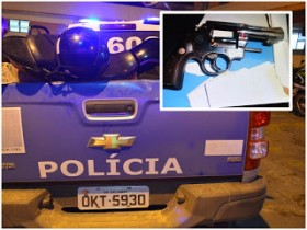 A Polícia recuperou a arma usada na tentativa de homicídio e homicídio.