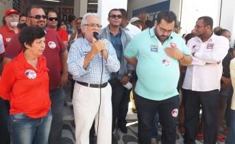 Militando juntos ha mais de duas décadas Emiliano disse que Cecilia é parte do Projeto de Lula, Wagner e Dilma.