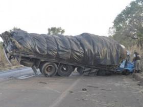 Roda dianteira se soltou o que acosiou o acidente