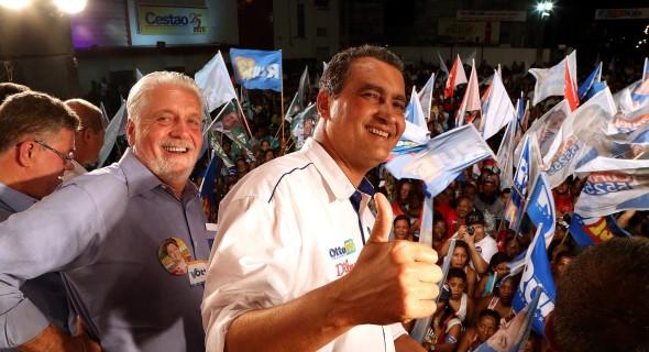Rui Costa, candidato a governador pela coligação Pra Bahia Mudar Mais,