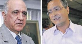 Paulo Souto (DEM) e Rui Costa (PT)