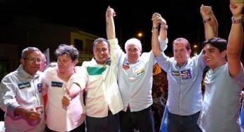 Candidato a governador pela coligação Pra Bahia Mudar Mais, Rui Costa