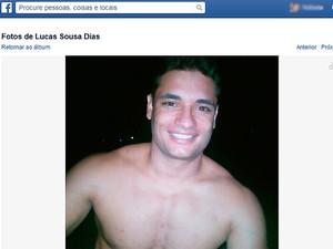 Lucas Dias era personal trainer na cidade de Itabuna, sul da Bahia