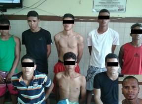 Quadrilha desarticulada era formada por dois jovens e sete adolescentes
