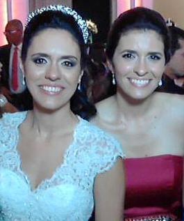 Luciana Augusta Teixeira Lustosa Machado, de 34 anos e a nutricionista Sílvia Augusta Teixeira Lustosa, 31.