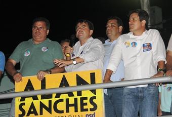 Almir está no segundo mandato e acredita na população barroquense para dar uma grande votação aos candidatos que ele apóia.