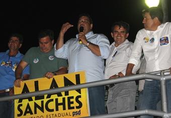 Alan Sanches garantiu que não vai faltar luta para ajudar Barrocas.
