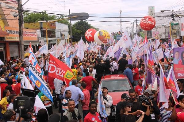 Carreata de Dilma e Rui em Feira de Santana - foto- Raimundo Mascarenhas - CN (30)