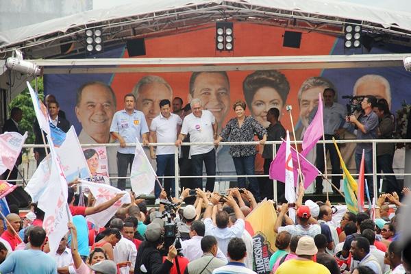 Carreata de Dilma e Rui em Feira de Santana - foto- Raimundo Mascarenhas - CN (67)