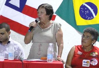 Cecília Petrina tem história de luta nos movimentos sociais.Ela já se candidatou ao cargo e ficou na suplência, assumiria a cadeira ao mesmo tempo que elegeu-se prefeita de Itiúba.