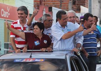 Na passagem da Caravana de Rui por São Domingos, estava Nafitel infiltrado nos petistas