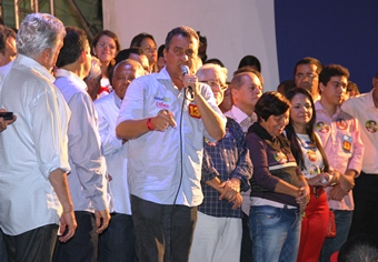 Rui quer o apoio da maioria do povo coiteense para ajudar ainda mais na adminsitração de Assis.