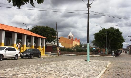 O centro da cidade não parece está em clima eleitoral.