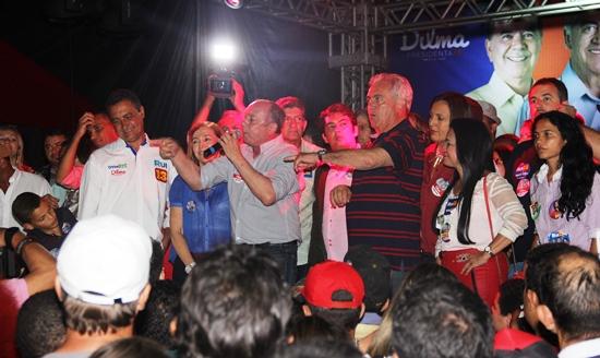 Zé Nunes disse o que motivou apoiar Rui Costa e citou vários motivos que segundo ele melhorou a Bahia e arrancou aplausos do público presente.