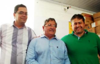 Antônio Pimentel, Benito Gama e Alex Lopes