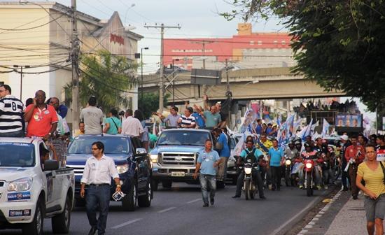 chapa de oposição em feira -1 - foto- Raimundo Mascarenhas