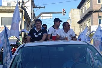 Alex Lopes disse que foi um grande momento também para os políticos se apresentarem para a grande multidão.