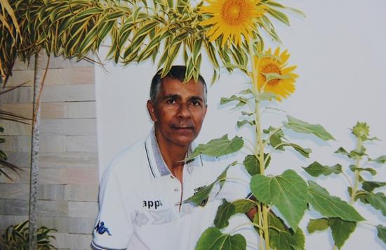O Girasol, sua flor preferida lhe acompanhou até a sepultura