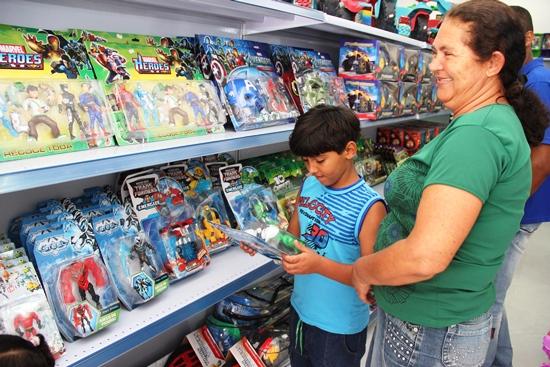 O Dia das Crianças está próximo e pensando nisso a Icasa investiu numa grande variedade de brinquedos.