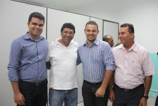 Eventos ligados ao cooperativismo tem sempre Zé Paulo, como a inauguração da ASCOOB Sisal em Serrinha recentemente.
