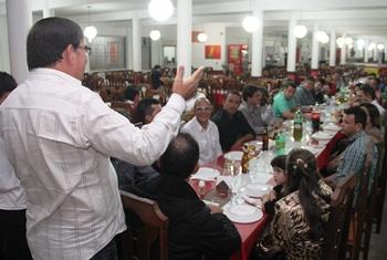 Francisco Apolônio apoia a chapa indicada pelo prefeito Assis. Alex e Emiliano