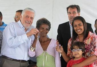 Programa Minha Casa Minha Vida tem resolvido a vida de milhões de famílias em todo o país.